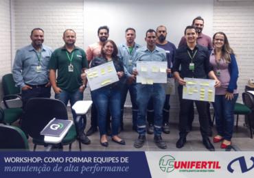 Workshop In Company: Como Formar Equipes de Manutenção de Alta Performance