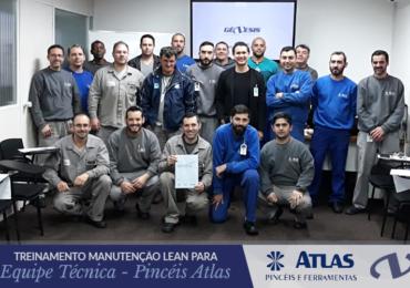 Manutenção Lean para Equipe Técnica - Pincéis Atlas (In Company)